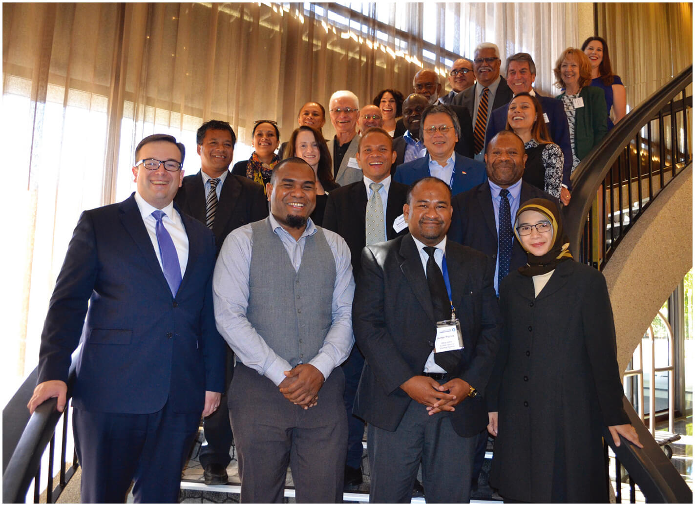 Integrity leaders from the Asia-Pacific Region, International Integrity Leaders Forum, April 2017.