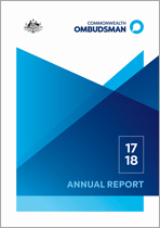 Commonwealth-Ombudsman-Annual-Report-2017-18-Cover